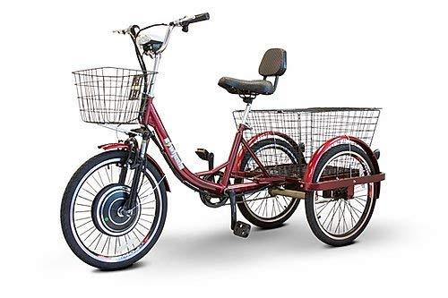 EWheels (EW-29) Scoot-Around Pedal or Electric Power 3 Wheel Trike