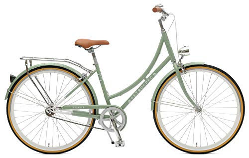 retrospec venus dutch step-thru city comfort hybrid bike