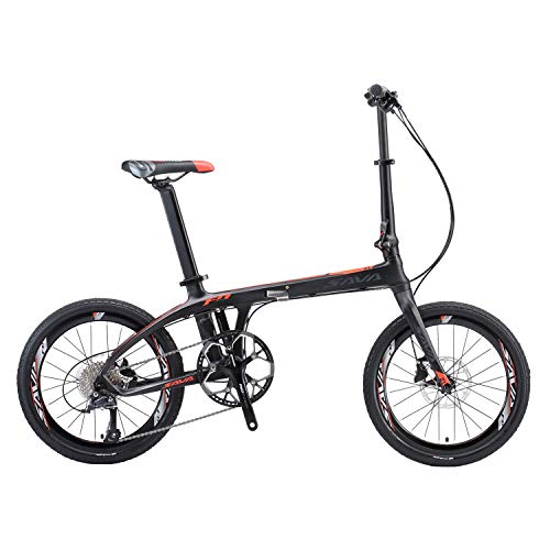 SAVADECK  20 inch Carbon Fiber Portable Bicycle
