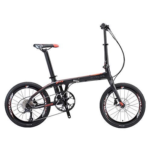 SAVADECK 20 inch Carbon Fiber Portable Bicycle