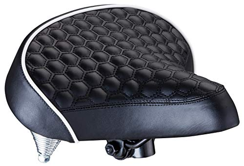 Schwinn Quilted Wide Cruiser Saddle