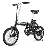 ANCHEER Folding 16'' Electric Commuter Bike