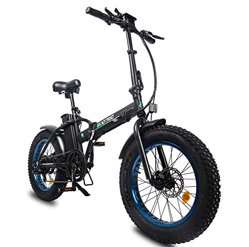 ECOTRIC Fat Tire Electric Bike 500W