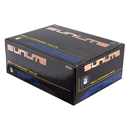 Sunlite Standad Schrader Valve Tubes,Multiple Sizes