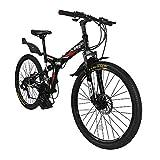 folding mountain bike review