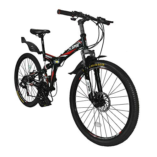 folding mountain bike review