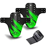 NICEDACK Bike Fender, Adjustable MTB Mud Guard, Front and Rear Compatible Mudguards, Easy to...