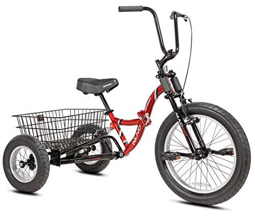 Nuvo Adult Folding Trike, 20-Inch