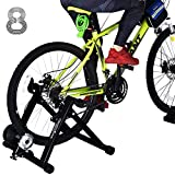 HEALTH LINE PRODUCT Bike Trainer Stand for 26'-29' Mountain & 700C Road Bikes, Indoor Stationary...