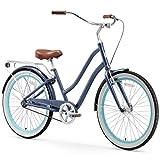 sixthreezero EVRYjourney Women's 7-Speed Step-Through Hybrid Cruiser Bicycle, 26' Wheels and 17.5'...