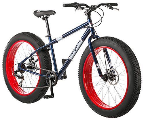 mongoose fat tire bike 7 speed review