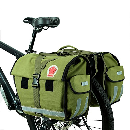ArcEnCiel Water Resistant Bicycle Carrier Rack Pannier Bag