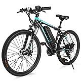 ANCHEER Electric Bike Electric Mountain Bike 350W Ebike 26'' Electric Bicycle, 20MPH Adults Ebike...