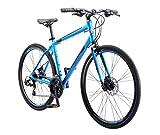 Schwinn Volare 1200 Road Bike, 700c/28 inch wheel size, Grey Gray, fitness bicycle, 53cm/Medium...