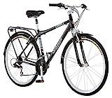 Schwinn Discover Hybrid Bikes for Men and Women, Featuring Aluminum City Frame, 21-Speed Drivetrain,...