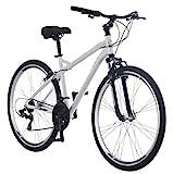 Schwinn Men's Network 3.0 700C Wheel Men's Hybrid Bicycle White, 18' Frame size