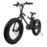 Swagtron Swagcycle EB-6 Bandit Trail Electric Bike with Removable Battery and Dual Disc Brakes,...