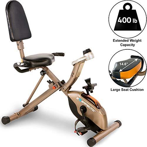 folding recumbent exercise bike review