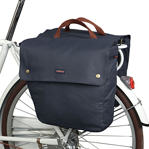 TOURBON Canvas Cycling Bicycle Bike Pannier