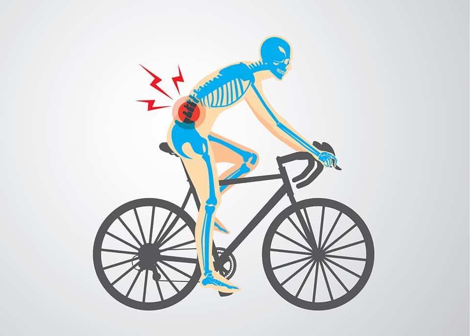 Bicycling and Pain