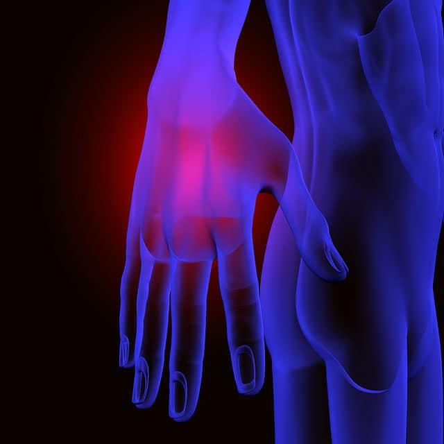Fingers pain