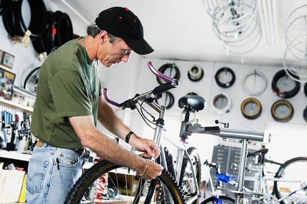 tune up your bike at your local shop