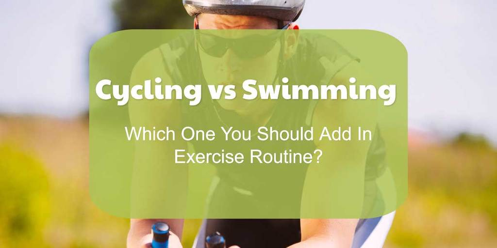 Cycling Versus Swimming
