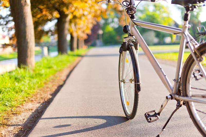 Walking vs biking