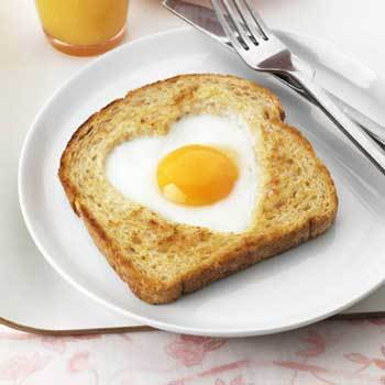 Eggs and toast