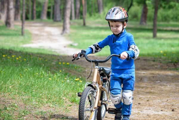 bike to work with kids