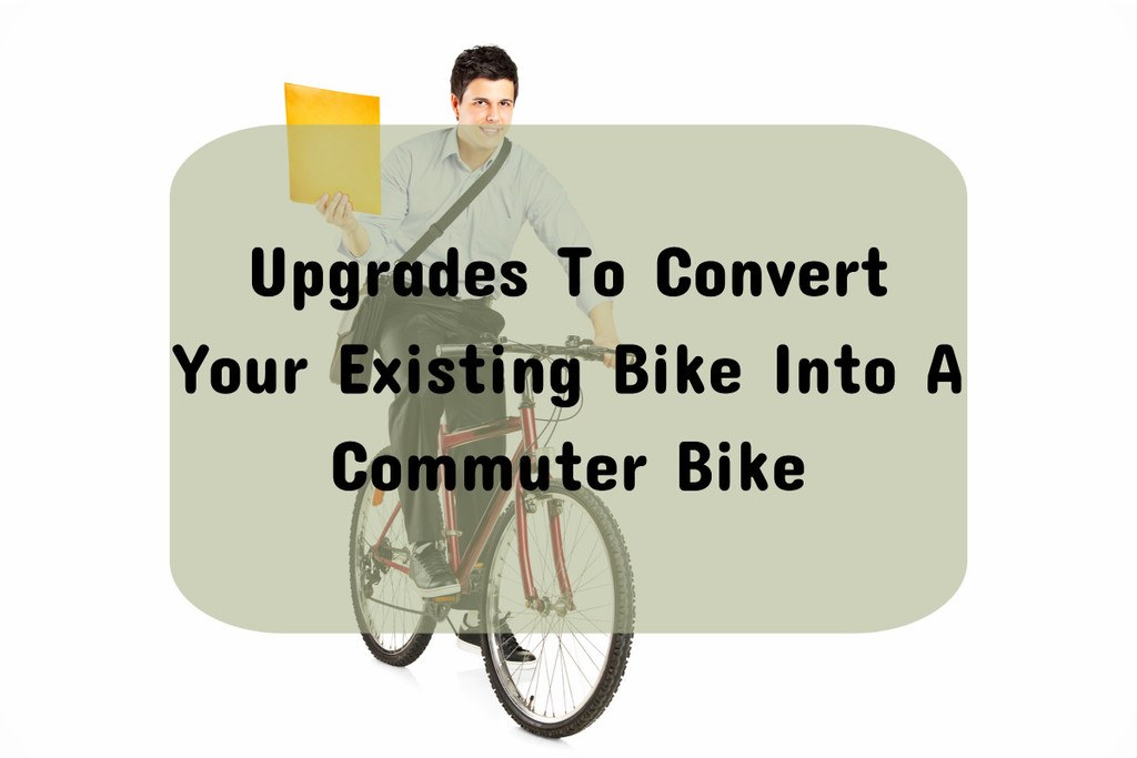 converting road bike to commuter
