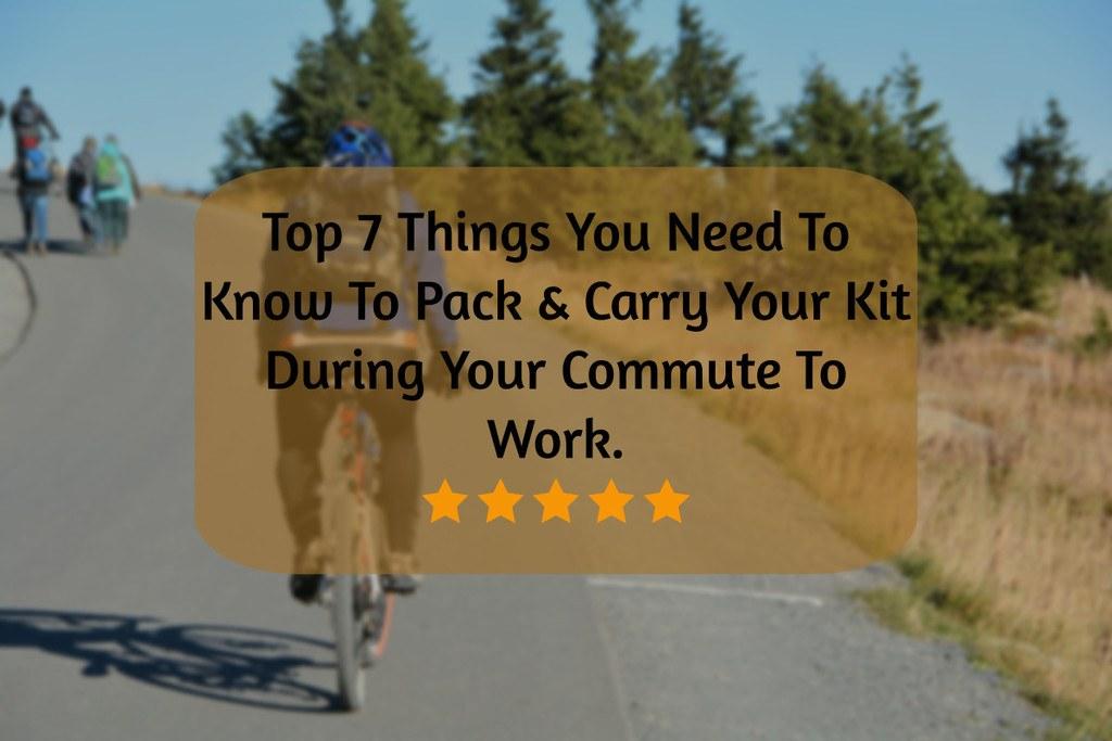 essential commute kit