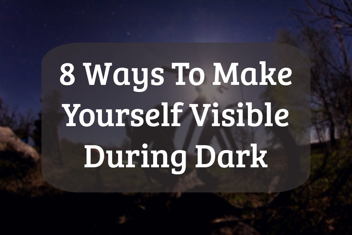 How to Be Seen in the Dark during Your Bike Commute