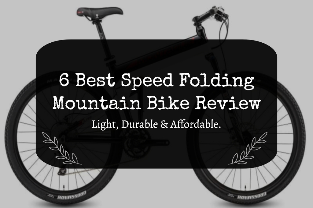 Foldable mountain bike review