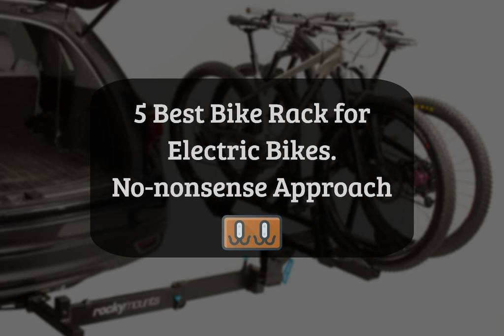 best ebike hitch carrier