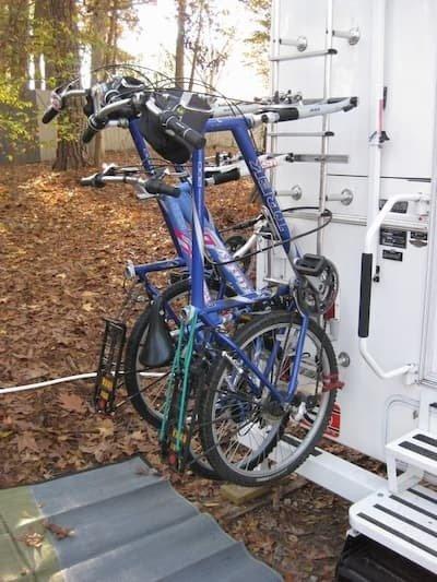 Ladder mounted Racks